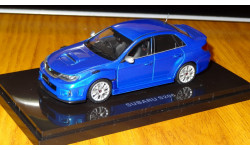Subaru Impreza S206 Ebbro, 1:43, металл
