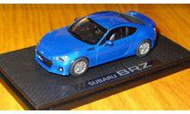 Subaru BRZ Ebbro, 1:43, металл, масштабная модель, scale43