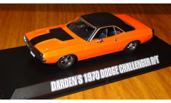 Dodge Challenger R/T 1970 Fast & Furious Форсаж 1:43 Металл