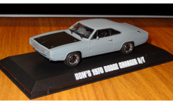 Dodge Charger R/T 1970 Fast & Furious Форсаж 1:43 Металл, масштабная модель, 1/43, Greenlight Collectibles