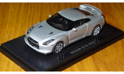 Nissan GTR 2007 праворульный Ebbro, масштабная модель, 1:43, 1/43