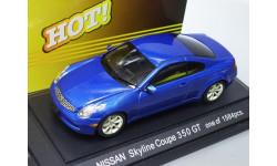 Nissan Skyline Coupe 350GT Ebbro, металл, 1:43