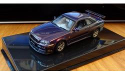 Nissan Skyline GT-R R34 Spec-V Purple AutoArt, 1:43 Металл
