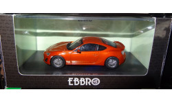 Toyota 86 GT RHD EBBRO, 1:43, металл, масштабная модель, 1/43