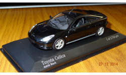Toyota Celica 2001 Minichamps, масштабная модель, 1:43, 1/43