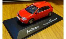 Toyota Corolla RUNX J-collection, масштабная модель, 1:43, 1/43