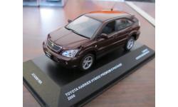 Toyota Harrier Hybrid Premium S package J-Collection Cooper brown mica, масштабная модель, 1:43, 1/43