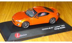 Toyota 86 GT RHD J-Collection в масштабе 1:43, металл, масштабная модель, 1/43