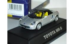 Toyota MR-S с тентом Ebbro 1:43 металл