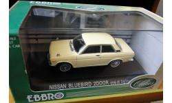 Nissan Bluebird SSS 2 Door Ebbro 1:43 Металл, масштабная модель, 1/43