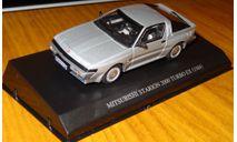 Mitsubishi Starion Turbo EX 1988 Aoshima DISM 1:43 Металл, масштабная модель, scale43