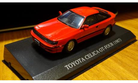 Toyota Celica GT-Four 1987 Свет фары Dism, масштабная модель, 1:43, 1/43, Aoshima