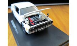 Nissan Skyline 2000 GT-R KPGC110 Kyosho 1:43 металл