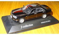 Nissan Gloria 2001 Black J-Collection, 1:43, металл, масштабная модель, 1/43