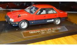 Nissan Skyline Sedan 1981 2000 RS Hi-Story, P&S, 1:43, Смола