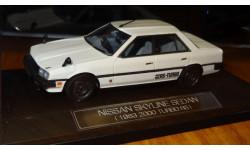 Nissan Skyline Sedan 1983 2000 RS, Hi-Story, 1:43, Смола