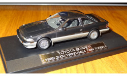 Toyota Soarer 1988 2000 TwinCam 24 Turbo, Hi-Story, 1:43, Смола