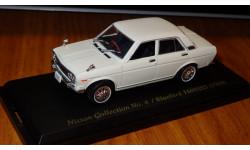 Nissan Bluebird 1600 SSS 1969 № 4 Японская журналка Nissan Collection
