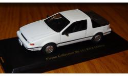 Nissan EXA 1986 №13 Японская журналка Nissan Collection, масштабная модель, 1:43, 1/43, Hachette
