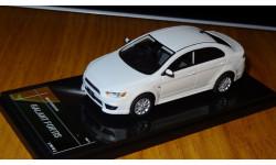 Mitsubishi Galant Fortis 2012 White Pearl, Wit's, 1:43, Смола