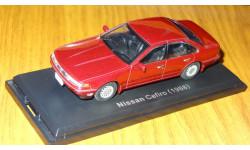Nissan Cefiro 1988  Японская журналка, металл, 1:43, масштабная модель, 1/43, Hachette