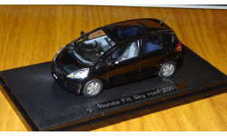 Honda Fit, 2007, Ebbro, металл, 1:43