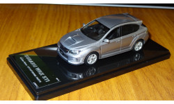 Subaru Impreza WRX STI A-Line 5door STI, 2011, Wit's, 1:43, смола