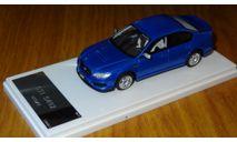 Subaru Legacy B4 STI S402, 2009, Wit's, 1:43, смола, масштабная модель, 1/43