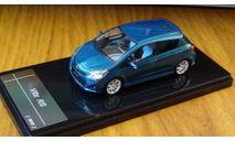 Toyota Vitz RS, 2012, Wit's, 1:43, смола, масштабная модель, 1/43