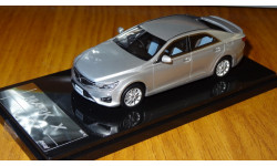 Toyota Mark X 2.5 G'S Package , 2012, Wit's, 1:43, смола