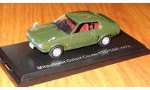 Mitsubishi Galant FTO GSR 1973 Японская журналка, 1:43, металл, масштабная модель, 1/43, Norev
