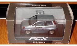 Honda FCX, Ebbro, 1:43, Дилерская, масштабная модель, 1/43