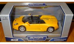 Lamborghini Murcielago Roadster желтый 'Motor, масштабная модель, 1:43, 1/43