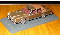 Lincoln Continental Mark VI 1980-1983, NEO, смола, масштаб 1:43, масштабная модель, 1/43, Neo Scale Models