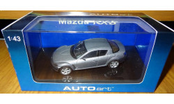Mazda RX8 AutoArt, 1:43 Металл, масштабная модель, 1/43