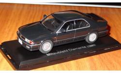 Mitsubishi Diamante 1991 Японская журналка №134, масштабная модель, 1:43, 1/43, Norev