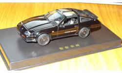 Nissan Fairlady Z 300 ZR 1986 Aoshima Dism 1:43 металл, масштабная модель, 1/43