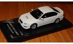 Subaru Legacy B4 2.0GT Spec. B Tuned by STI, 2007, Wit's, 1:43, смола