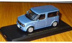 Nissan Cube 2003 Японская журналка Nissan Collection №56, 1:43, металл, в боксе, масштабная модель, 1/43, Norev