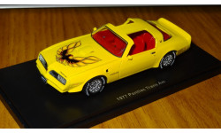 Pontiac trans AM 1977, Auto World , 1:43, Смола