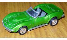 Chevrolet Corvette Stingray, Bounty Killer, New Ray, 1:43 Металл, масштабная модель, scale43