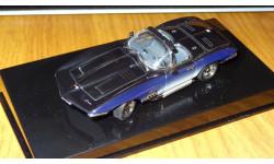 Chevrolet Corvette Mako Shark AutoArt, 1:43 Металл, масштабная модель, 1/43