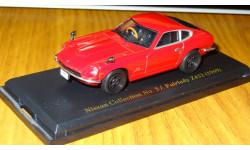 Nissan Fairlady Z432 1969 Японская журналка Nissan Collection №5, 1:43, металл, в боксе