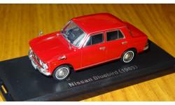 Nissan BlueBird ( 1963) Японская журналка №62, 1:43, металл, в боксе