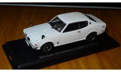 Nissan Bluebird U2000GT (1973) Японская журналка №79,1:43, металл, в боксе