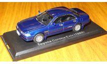 Toyota Corona EXIV ( 1989) Японская журналка №55, 1:43, металл, в боксе, масштабная модель, 1/43, Hachette