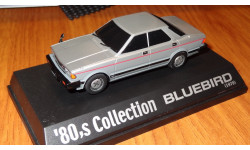 Nissan Bluebird 1979 Aoshima, 80's Collection, 1:43, ColdCast, масштабная модель, 1/43