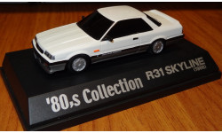 Nissan Skyline GTS-X R31 1986 Aoshima, 80's Collection, 1:43