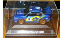 Subaru Impreza WRС 2003 RC модель, пластик, электрика, не комплект