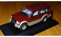 Mitsubishi Pajero, 1993, 2800 Intercooler Turbo Diesel, Long, Minichamps, Red, металл, 1:43, масштабная модель, 1/43